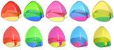 SNAPPY, jednoduché plastové ořezávátko se zásobníkem, mix 5 barev (červená, žlutá, modrá, zelená, růžová)