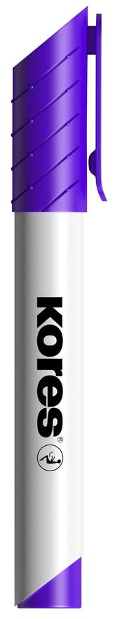 K-MARKER Popisovač na bílé tabule a flip charty, kulatý hrot 3 mm, fialový