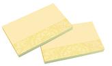 Samolepicí bločky MANDALA žluté, FSC 125x75 / 100 lístků v bločku