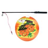 Lampion Halloween kulatý - veselé dýně, 25 cm