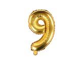 balónek nafukovací číslo 9, 35 cm