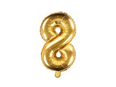 balónek nafukovací číslo 8, 35 cm