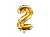 balónek nafukovací číslo 2, 35 cm