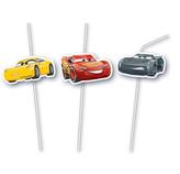 Slámky Cars 6 ks