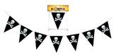 girlanda pirátská 7 vlajek