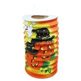 Lampion Halloween veselé dýně, 15 cm