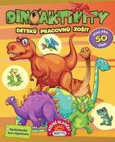 Dinoaktivity – Detský pracovný zošit