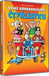 Velké dobrodružství Čtyřlístku DVD