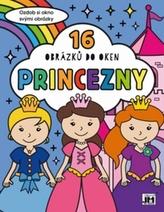 Princezny 16 obrázků do oken
