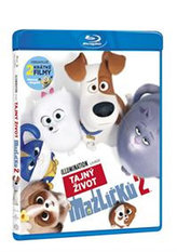 Tajný život mazlíčků 2 Blu-ray