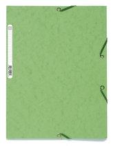 Spisové desky s gumičkou A4 prešpán 400 g/m2 - světle zelené
