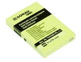 Samolepicí bloček Eco 51 × 76 mm  - žlutý 100 listů