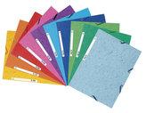 Spisové desky s gumičkou A4 prešpán 400 g/m2 - mix barev