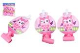 Frkačky papírové 6ks růžové v sáčku karneval