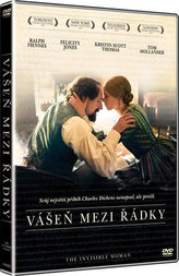 Vášeň mezi řádky DVD