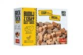 Stavějte z cihel náhradní cihličky přírodní 70ks ke stavebnici Brick Trick v krabici 20,5x14,5x6cm