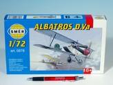 Model Albatros D.Va 1:72 10,2x12,6cm v krabici 25x14,5x4,5cm
