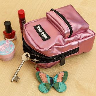 Minibatůžek na ruku Růžový