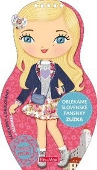 Oblékáme slovenské panenky Zuzka