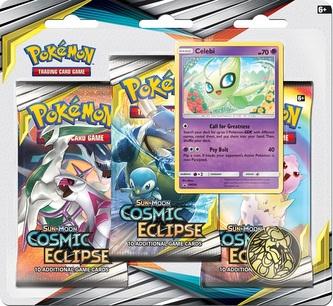 Pokémon TCG: SM12 Cosmic Eclipse 3 Blister Booster