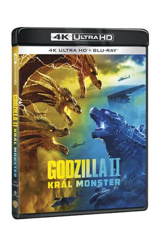 Godzilla II Král monster 4K Ultra HD + Blu-ray