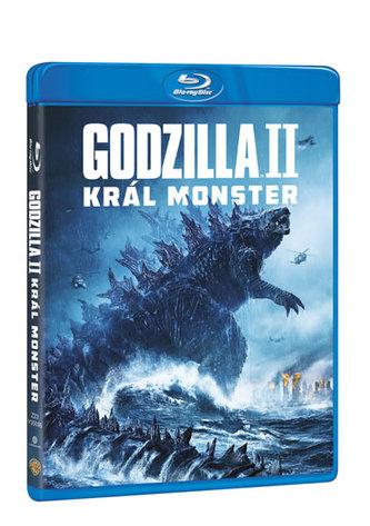 Godzilla II Král monster Blu-ray