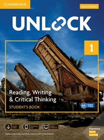 Unlock Level 1 Reading, Writing, & Critical Thinking Student´s Book, Mob App and Online Workbook w/ Downloadable Video
