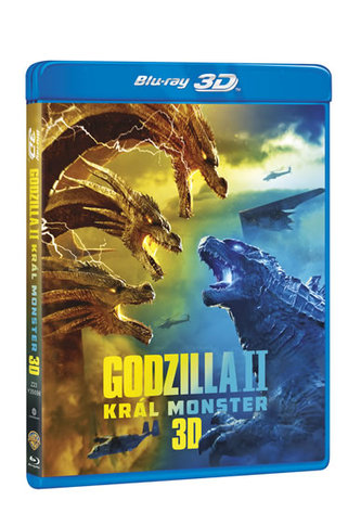 Godzilla II Král monster 2 Blu-ray (3D+2D)