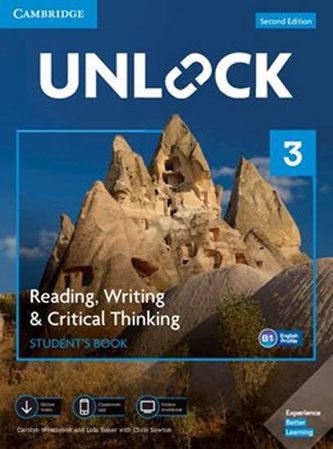 Unlock Level 3 Reading, Writing, & Critical Thinking Student´s Book, Mob App and Online Workbook w/ Downloadable Video