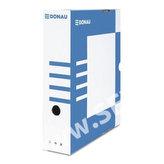 Donau archivační box A4 80 mm lepenka - modrý