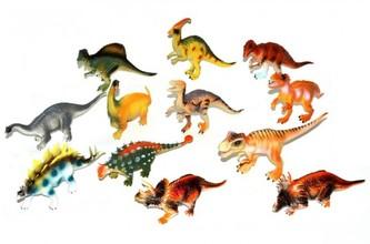 Dinosaurus plast 14-18cm mix druhů 24ks v boxu