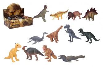 Dinosaurus plast 20-23 cm ruzné druhy