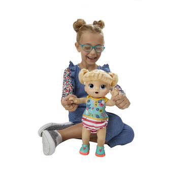 Baby Alive Blond smějící se panenka