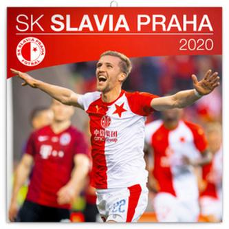 Poznámkový kalendář SK Slavia Praha 2020