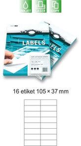 Etikety EUROLABELS - 16 etiket na A4 (100 ks), 140g