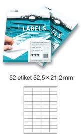 Etikety EUROLABELS - 52 etiket na A4 (100 ks), 140g