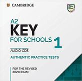 A2 Key for Schools 1 for revised exam from 2020 Audio CD
