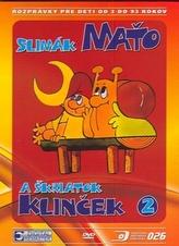Slimák Maťo a škriatok Klinček 2. DVD