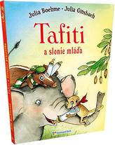 Tafiti a slonie mláďa