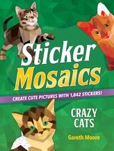 STICKER MOSAICS CRAZY CATS