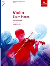 Violin Exam Pieces 2020-2023, ABRSM Grade 2, Part