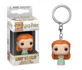 Funko POP Keychain: Harry Potter - Ginny (Yule)