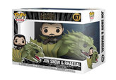 Funko POP Rides: Game of Thrones S11 - Jon Snow w/Rhaegal