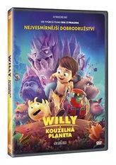 Willy a kouzelná planeta DVD