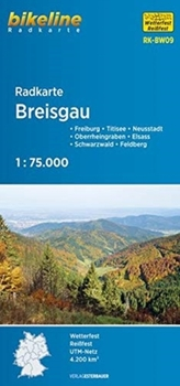 BRIESGAU CYCLE MAP GPS