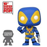 Funko POP Marvel: 10 Deadpool - Thumbs Up Blue Deadpool
