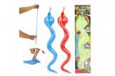 Had antistresový elastický lepivý 3 barvy na kartě