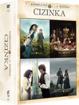 Cizinka 1. - 4. série 21 DVD
