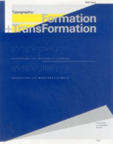 Typography: Formation and TransFormation