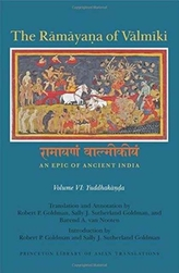 The Ramayana of Valmiki: An Epic of Ancient India, Volume VI